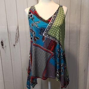 Candies patterned tank top